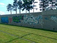 Graffiti et affiches